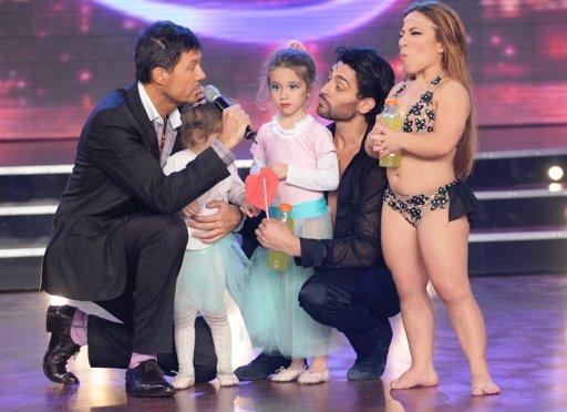 Se completó la ronda de adagio latino en Bailando por un sueño