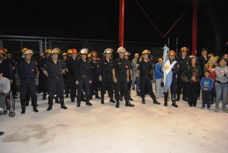 Se inauguró el destacamento Villa Martelli de los Bomberos Voluntarios de Vicente López