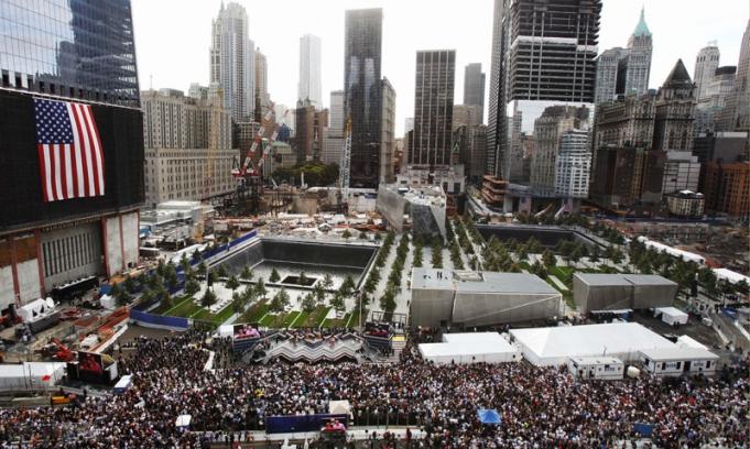 Estados Unidos recordó a las víctimas de los ataques del 11 de septiembre