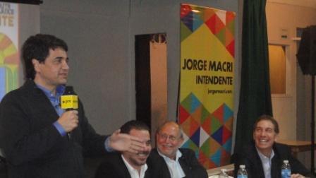 Dirigentes peronistas del PRO, apoyan la candidatura de Jorge Macri