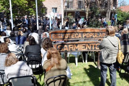 La Biblioteca Popular Sarmiento cumplió 95 años