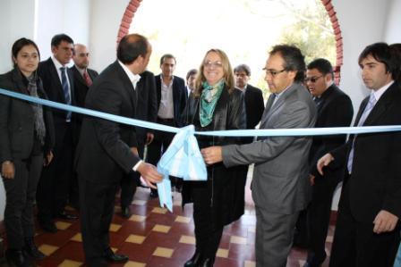 Sandro Guzmán y Alicia Kirchner inauguraron el centro deportivo y recreativo Zona Norte en Ingeniero Maschwitz