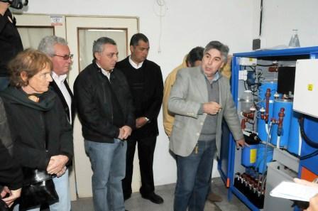 Se inauguró la Planta Potabilizadora en la Escuela Nº 8 de Islas