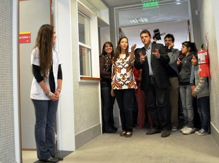 Massa inauguró una nueva Sala de Atención Familiar y de Salud en Don Torcuato