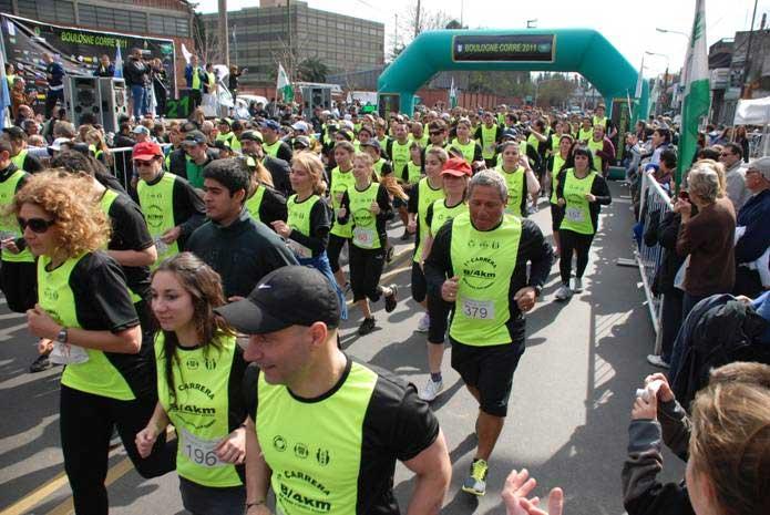 Se corrió la maratón de Boulogne