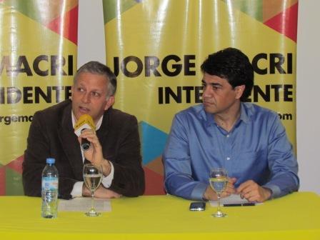 Luis Parodi anunció su apoyo a la candidatura de Jorge Macri