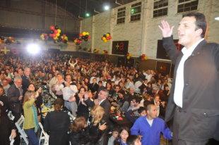 Sergio Massa presentó su campaña 2012-2015 para los vecinos de Tigre Centro