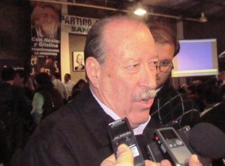 Amieiro saludó a Andreotti por el resultado electoral y ofreció reunirse rápidamente