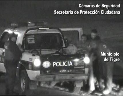 Las cámaras de Tigre permitieron identificar al violador de la mujer policía