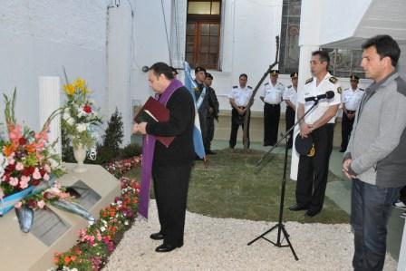 Tigre homenajeó a los policías caídos en actos de servicio
