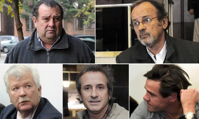 Se trata del cuñado Guillermo Bártoli (49), del hermano Horacio García Belsunce (h) (62), el hermanastro John Hurtig (46), el médico Juan Ramón Gauvry Gordon (43) y el vecino Sergio Binello (58)