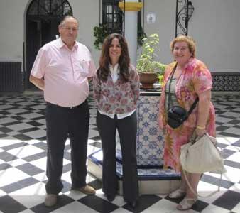 Descendientes de Acassuso visitaron San Isidro