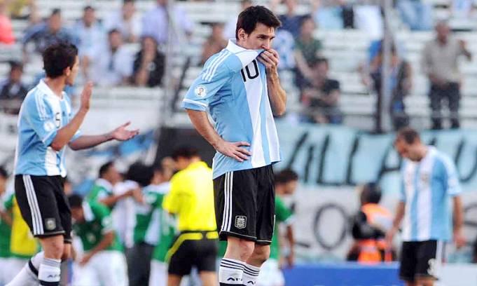 Argentina sigue sin lucir, no encuentra su estilo y apenas empato con Bolivia