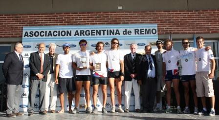 Los campeones panamericanos de Remo brillaron en Tigre