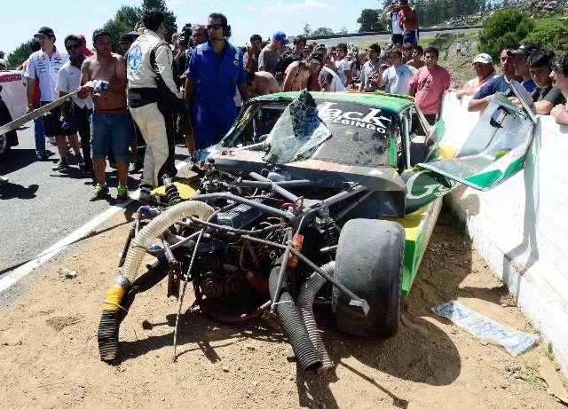 Guido Falaschi murió tras un múltiple choque en la carrera del TC en Balcarce