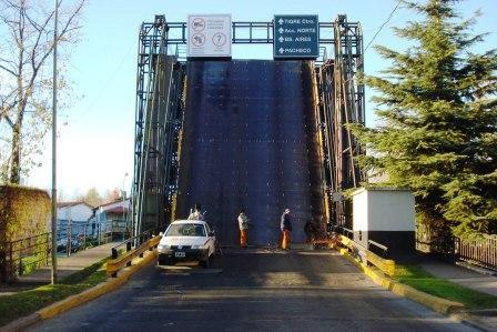 Corte por reparaciones y mantenimiento en el puente Bacigalupo