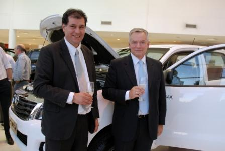 Se presentó en Tigre la nueva Hilux 2012 de Toyota