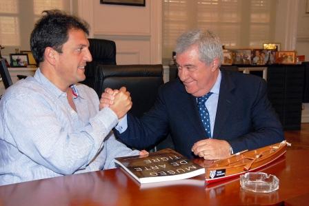 Massa y Ameal se reunieron para fortalecer los derechos de los niños junto a UNICEF