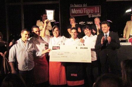 Milho resultó el ganador de la competencia gastronómica organizada por el Municipio de Tigre