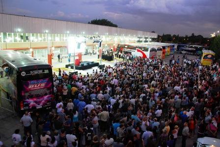 Massa inaugur� la nueva terminal de �mnibus El Talar