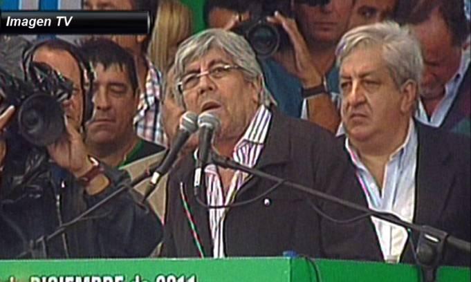Moyano ratificó el paro del miércoles y ultiman detalles de la movilización