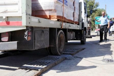 Tigre suma nuevo equipamiento para el control de peso en camiones