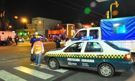 Gran operativo de prevención en la noche de San Martín