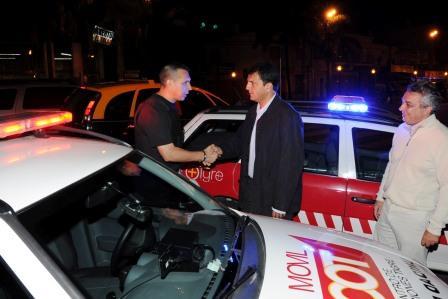 Massa recorrió en Nochebuena los sistemas de emergencia de Tigre