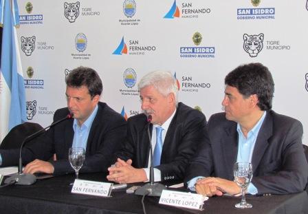 Los intendentes de la Región Metropolitana Norte se reunieron en San Fernando