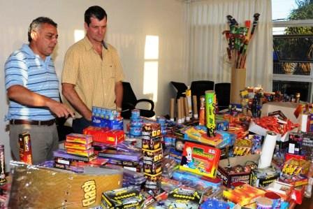 Múltiples operativos de Control de Pirotecnia en Tigre.