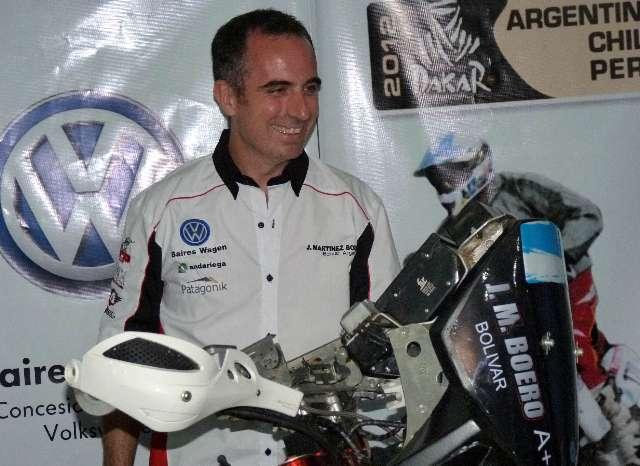 El Dakar empezó de la peor manera con la muerte del piloto argentino Martínez Boero