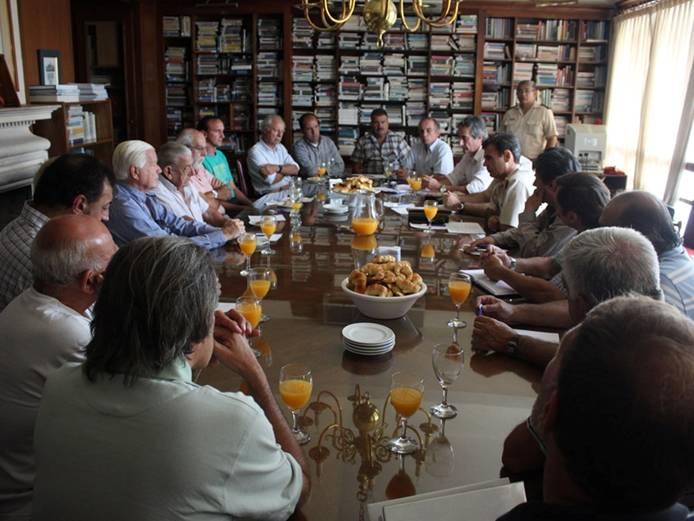 Encuentro de clubes náuticos y la Prefectura San Isidro
