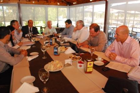 Se reunieron los secretarios de economía de los Municipios de la Región Metropolitana Norte