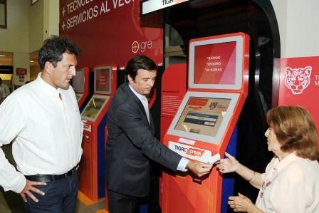 Tigre suma nuevas terminales de autoservicio para los vecinos