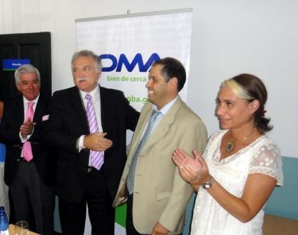 el contador Gabriel González asumió la Dirección Regional del Instituto Obra Médico Asistencial (IOMA) San Isidro