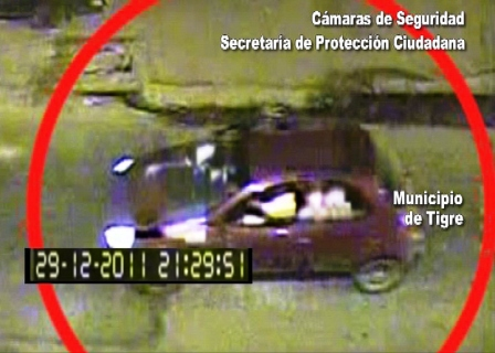 Las cámaras de Tigre destruyen la coartada de Sfeir