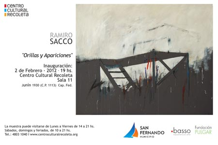 """""""Orillas y Apariciones"""" de Ramiro Sacco, un artista Sanfernandino."""