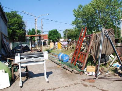 San Fernando municipio recupera espacios y recursos para los vecinos.