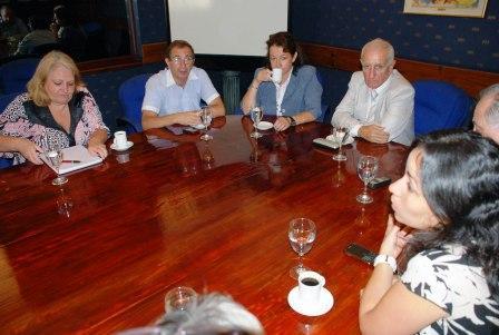 Presentación de nuevas autoridades de ADA en Pilar.
