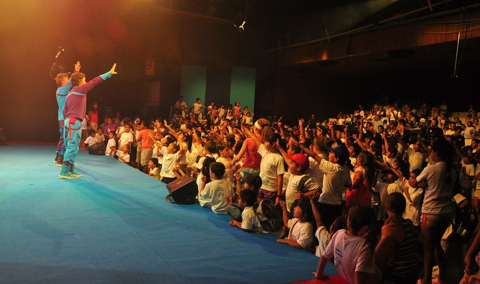 San Martin: Más de 600 chicos recorrieron Canal 7
