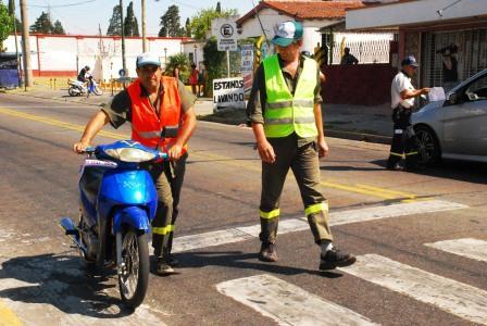 Intensifican los controles de tránsito en San Fernando