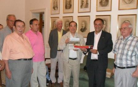 ing-Kun Tam eligió visitar Tigre para interiorizarse en las actividades que lleva en conjunto con el Municipio