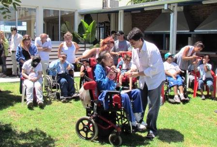 Jorge Macri entregó los premios del torneo de pesca para chicos con capacidades diferentes
