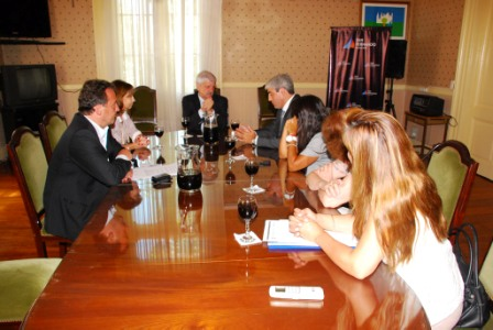 El intendente de San Fernando se reunió con el Secretario Provincial de Niñez y Adolescencia