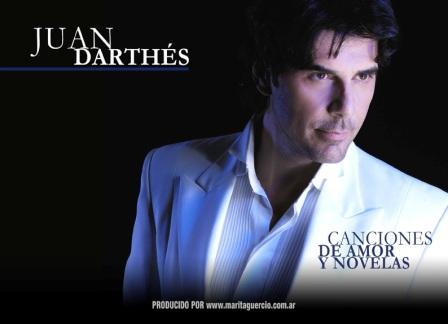 Juan Darthés en los tres teatros de Tigre