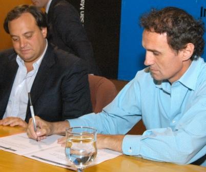 Katopodis y Ferré firmaron convenios para trabajar conjuntamente en el desarrollo social de San Martín