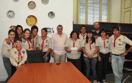 La agrupación Scout de Pacheco participó del  Jamboree del Centenario
