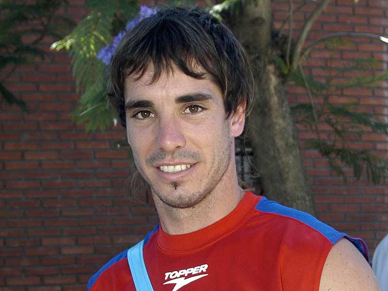 mediocampista del Tigre puntero Martín Galmarini