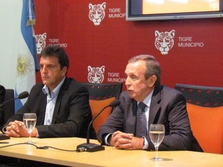 Tigre firmó un convenio con Veraz para distinguir a los buenos contribuyentes