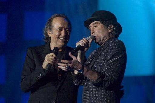 Joan Manuel Serrat y Joaquín Sabina iniciaron maratónica serie de recitales en Argentina